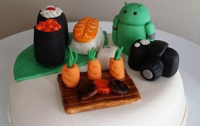 Tartas Personalizadas de Sushi