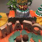 Mesas de Dulces en Madrid. Cumpleaños de Safari