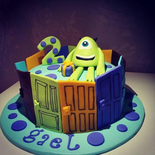 Tartas de Cumpleaños de Monster Inc