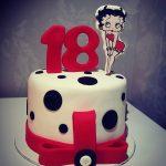 Tartas de Cumpleaños de Betty Boop