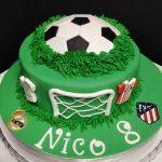 Tartas de Cumpleaños de Fútbol