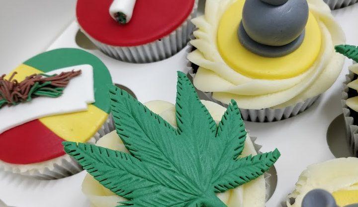 Cupcakes Personalizados de Rastafari