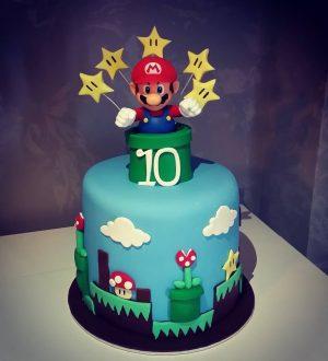 Tartas de Cumpleaños de Mario Bros