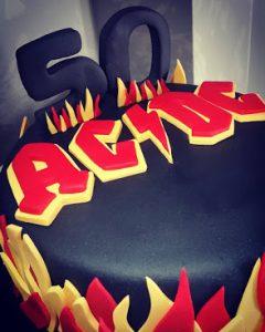 Tartas de Cumpleaños de AC/DC
