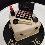 Tartas de Cumpleaños de Maquillaje