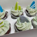 Cupcakes Personalizados de Surf