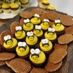 Mini Cupcakes Personalizados de Abejitas