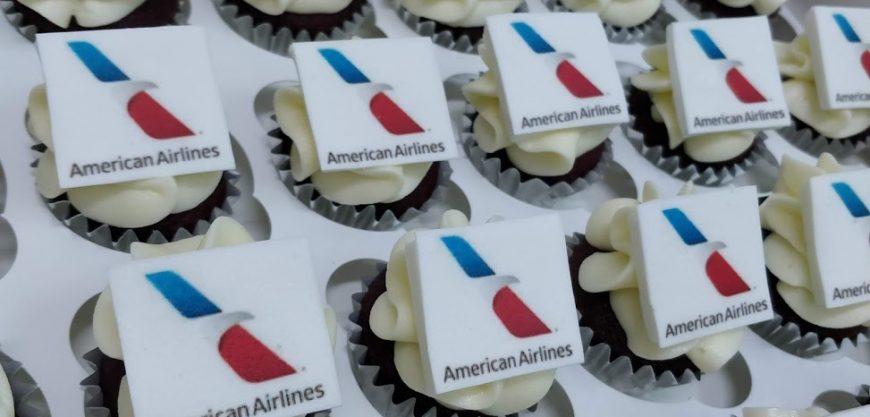 Cupcakes Corporativos American Airlines