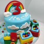 Tartas de Cumpleaños de Trenes