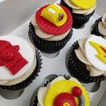 Cupcakes Personalizados de Bomberos