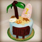 Tartas de Cumpleaños de Playa