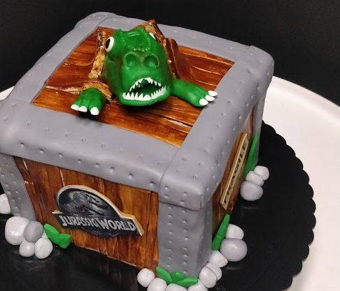 Tartas de Cumpleaños de Jurassic World
