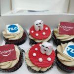 Cupcakes Corporativos de Colgate