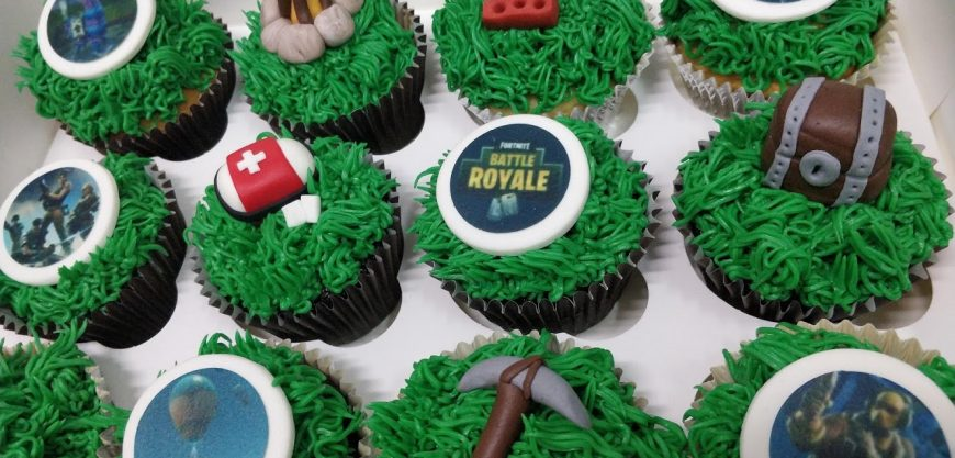 Cupcakes Personalizados de Fortnite