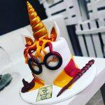Tartas Personalizadas de Harry Potter con Unicornio