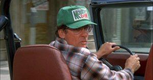 Steven Spielberg conduciendo en Back to the Future