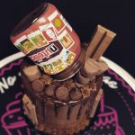 Drip Cakes de Nutella