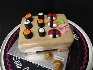 Tartas de Cumpleaños de Sushi