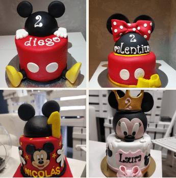 Tartas personalizadas Mickey y Minnie